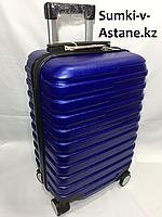 Маленький пластиковый дорожный чемодан на 4-х колесах Longstar.Высота 51 см, ширина 33 см, глубина 21 см., фото 1