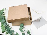 Коробка из микрогофрокатрона. Размер: 20*20*9