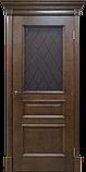 Межкомнатная шпонированная дверь Вильма2 дуб тон, фото 2
