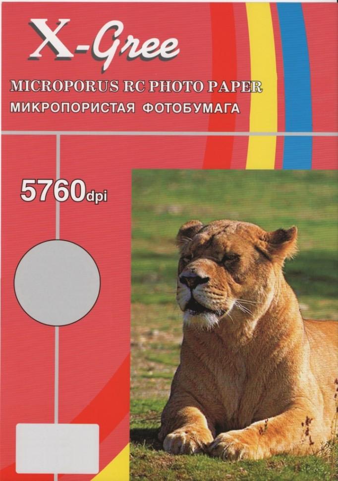 RL260L-A4-20 X-GREE Микропористая фотбумага с блеском на резиновой основе 260гр (Luster)