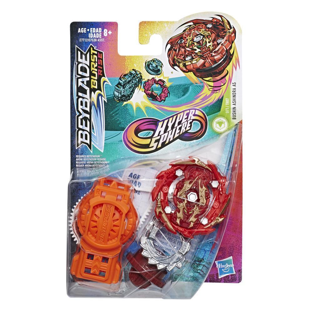 Hasbro Bey Blade Burst Волчок Гиперсфера с пусковым устройством Бушин Ашиндра A5