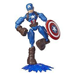 Hasbro Мстители Бенди Фигурка Капитан Америка