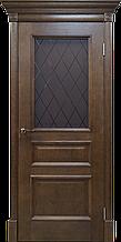 Межкомнатная шпонированная дверь Вильма2 дуб тон