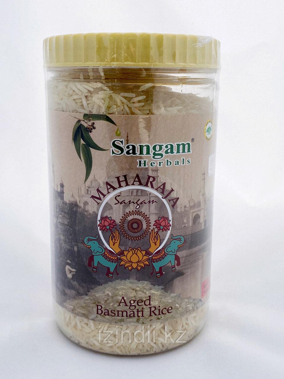 """Рис басмати """"Махараджа"""", 1 кг, Sangam Herbals"""