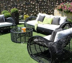 Мебель садовая из ротанга