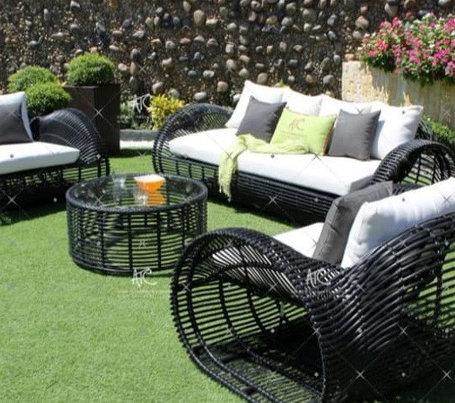 Мебель садовая из ротанга, фото 2