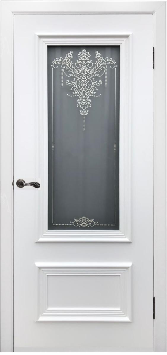 Межкомнатная дверь Премьер ( белая эмаль) h2300мм
