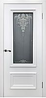 Межкомнатная дверь Премьер ( белая эмаль) h2200мм