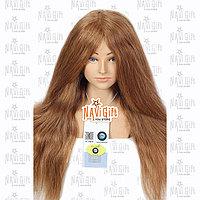 Манекен учебный ,золото, натуральный волос 100%, длина 50-55-60см, фото 1