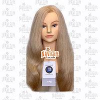 Манекен учебный ,блонд, натуральный волос 100%, длина 50-55-60см