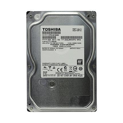 """HDD 500Gb Toshiba SATA6Gb/s 7200rpm 64Mb 3,5"""" DT01ACA050, фото 2"""