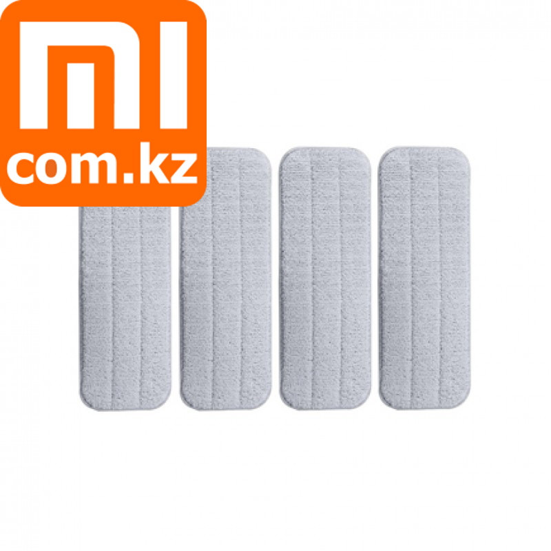 Набор сменных тряпок для швабры Deerma (4 шт) Xiaomi Deerma MOP Set Арт.6542 - фото 1