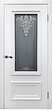 Межкомнатная дверь Премьер белая эмаль, фото 2