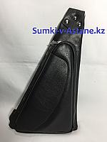 Мужская нагрудная сумка-кобура через плечо. Высота 32 см, ширина 17 см, глубина 4 см., фото 1
