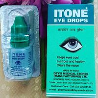 АЙТОН аюрведические глазные капли (Itone eye drops, Dey's Medical Stores) 10 мл