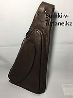 Мужская нагрудная сумка-кабура через плечо.Высота 32 см, ширина 17 см, глубина 4 см., фото 1