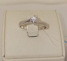 Золотое кольцо с бриллиантами / 18,5 размер