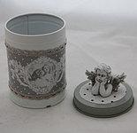 Металлическая шкатулка-банка для мелочей, фото 2