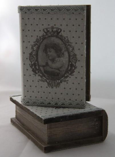 Шкатулка-книжка деревянная