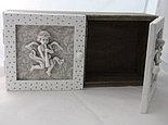 Шкатулка-шкафчик деревянный, фото 2