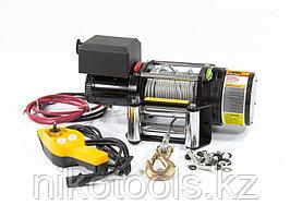 Лебедка автомобильная электрическая LB- 2000, 2,2 т, 3,2 кВт, 12 В// Denzel