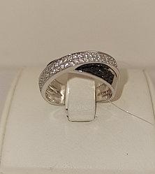 Кольцо с бриллиантами / 17,5 размер