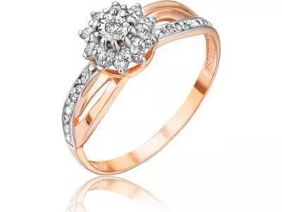 Золотое кольцо РусГолдАрт 1315003_1_5_1_18