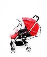Дождевик для прогулочной коляски (полиэтилен). Дождевик для прогулочной коляски (полиэтилен)