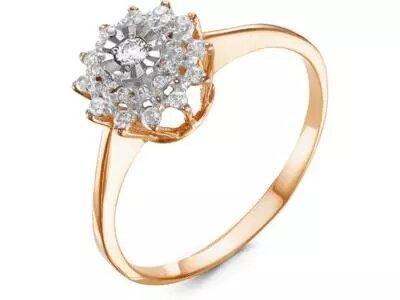 Золотое кольцо РусГолдАрт 1313603_1_5_1_165