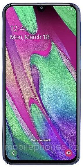 Смартфон Samsung Galaxy A40 Синий