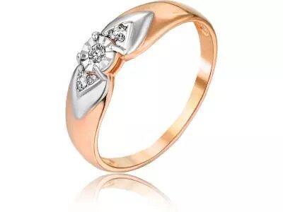 Золотое кольцо РусГолдАрт 1276503_1_5_1_175