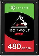 """Твердотельный накопитель SSD Seagate IronWolf 110 3D NAND ZA480NM10011 480GB 2,5"""" SATA-III 6 Gb/sec (TLC)"""
