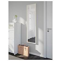 НИССЕДАЛЬ Зеркало, белый, 40x150 см, фото 1
