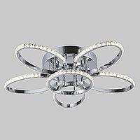 Потолочный светодиодный светильник с хрусталем