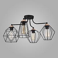 Потолочный светильник с металлическими плафонами