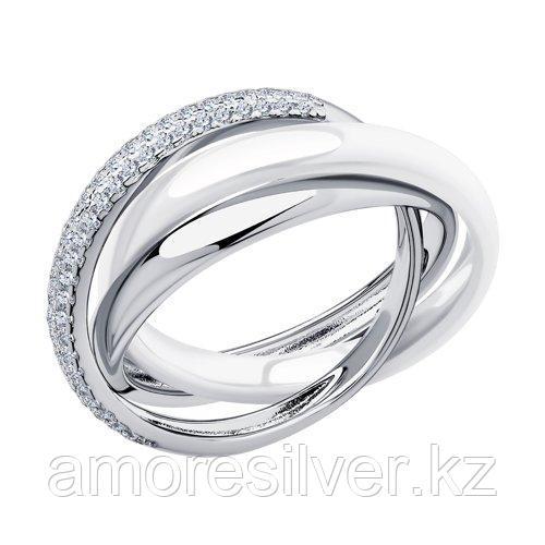 Кольцо из серебра  SOKOLOV 94014581