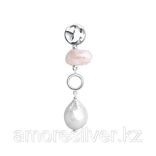 Подвеска из серебра с белым и розовым    SOKOLOV 92030618
