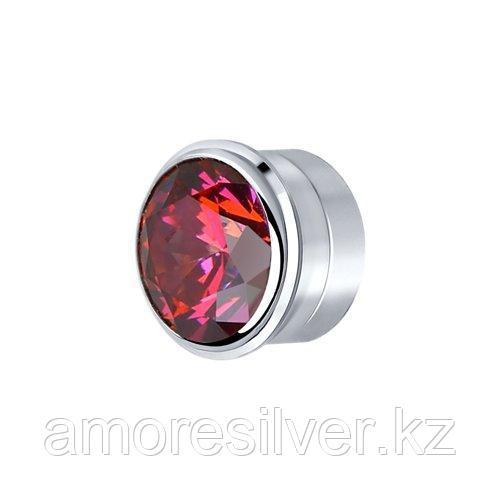 Вставка из серебра с красным    SOKOLOV 81030138