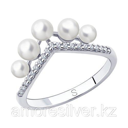 Кольцо из серебра  SOKOLOV 94013114