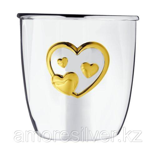 Стаканчик «Сердце» ,  позолота    SOKOLOV 2302010036