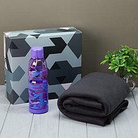 Подарочный набор LoveLife «Для самого любимого»: плед 150х130 см + бутылка