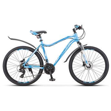 """Велосипед 26"""" Miss-6000 D, V010, цвет голубой, размер 15"""""""