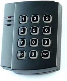 Считыватель Matrix-VII (мод. E H Keys) темный