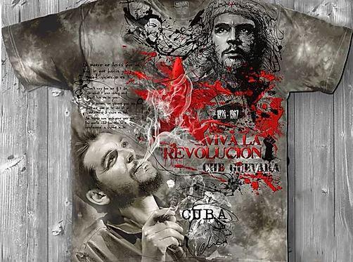 «Че Гевара» молодежная мужская варенка футболка 3D