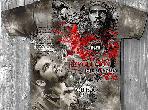 «Че Гевара» молодежная мужская варенка футболка 3D, фото 2