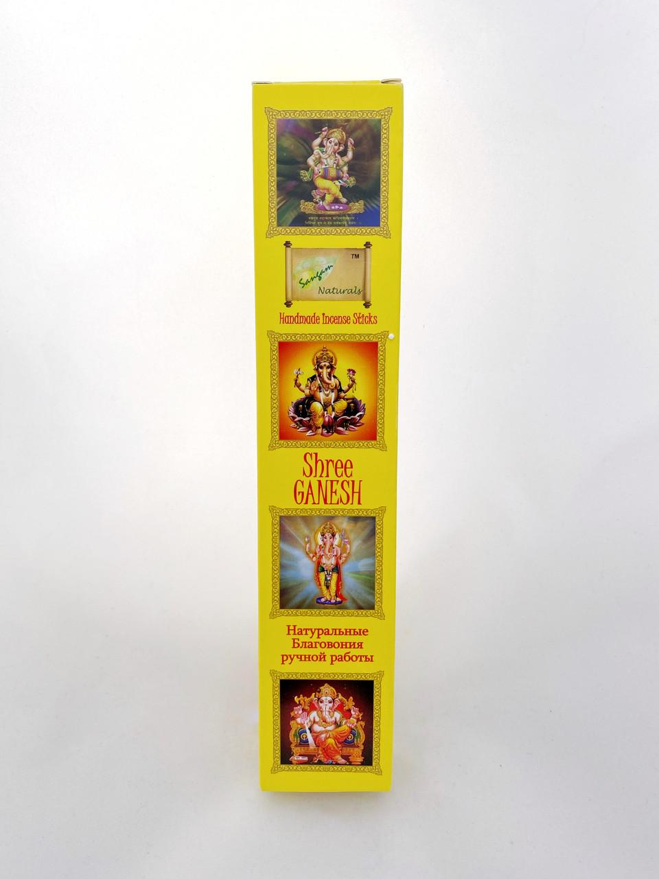 Shree Ganesh, Sangam. натуральные благовония ручной работы