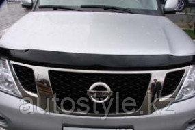 Дефлекторы капота Nissan Patrol Y62 2010+