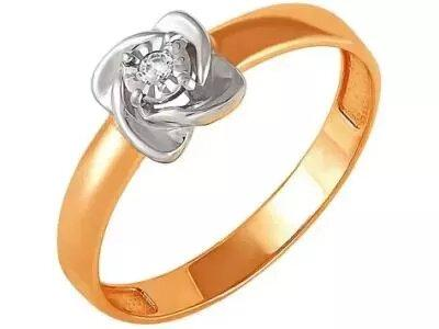 Золотое кольцо РусГолдАрт 1274303_1_5_1_165