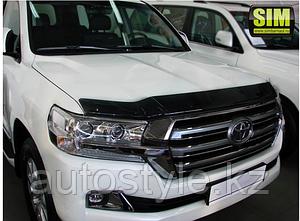 Дефлектор капота Toyota Land Cruiser 200 2015+