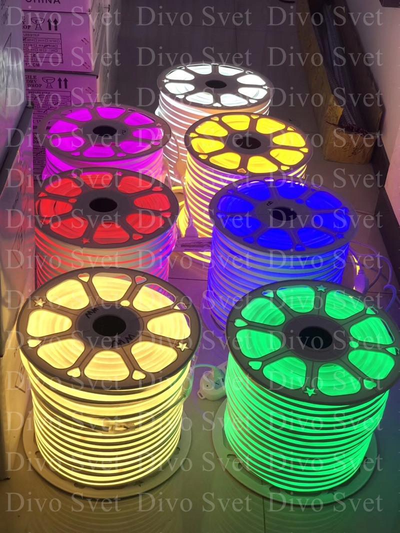 Флекс неон круглый 360 гр. Все Цвета!  Led Flex neon круглый, гибкий неон. Неоновая лента.
